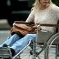 Официант в инвалидной коляске